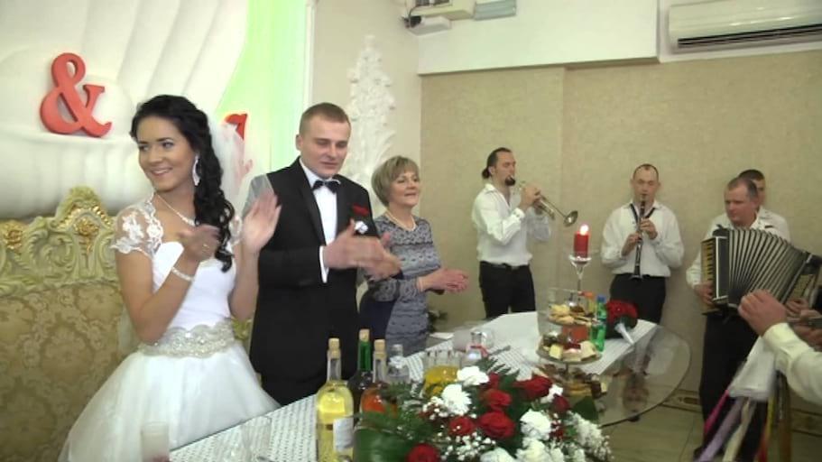 JURKI - zespół muzyczny z Gołkowic - wesele Madzi i Jarka, z drużbą Leszkiemem