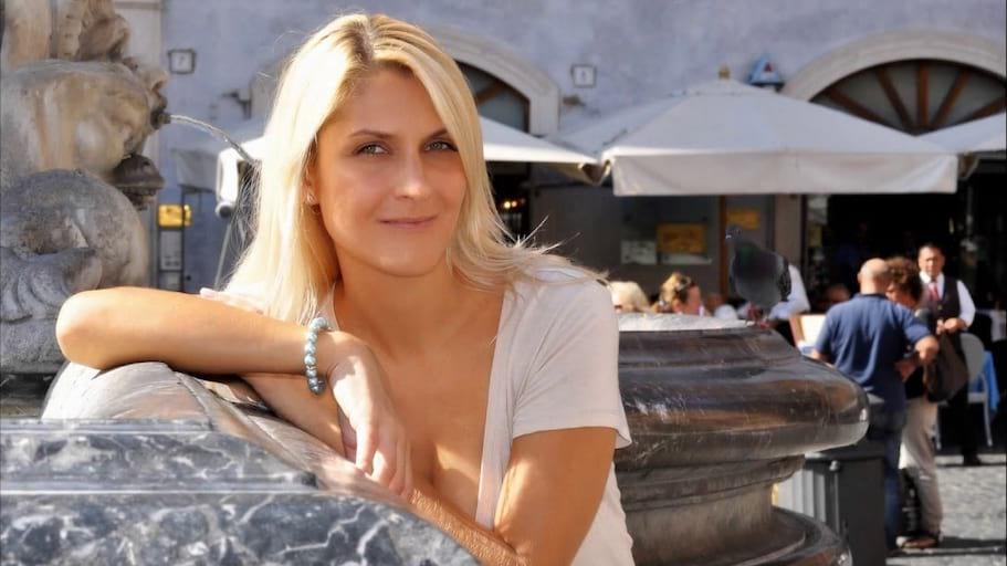 Zdjęcia plenerowe w Rzymie - Magda