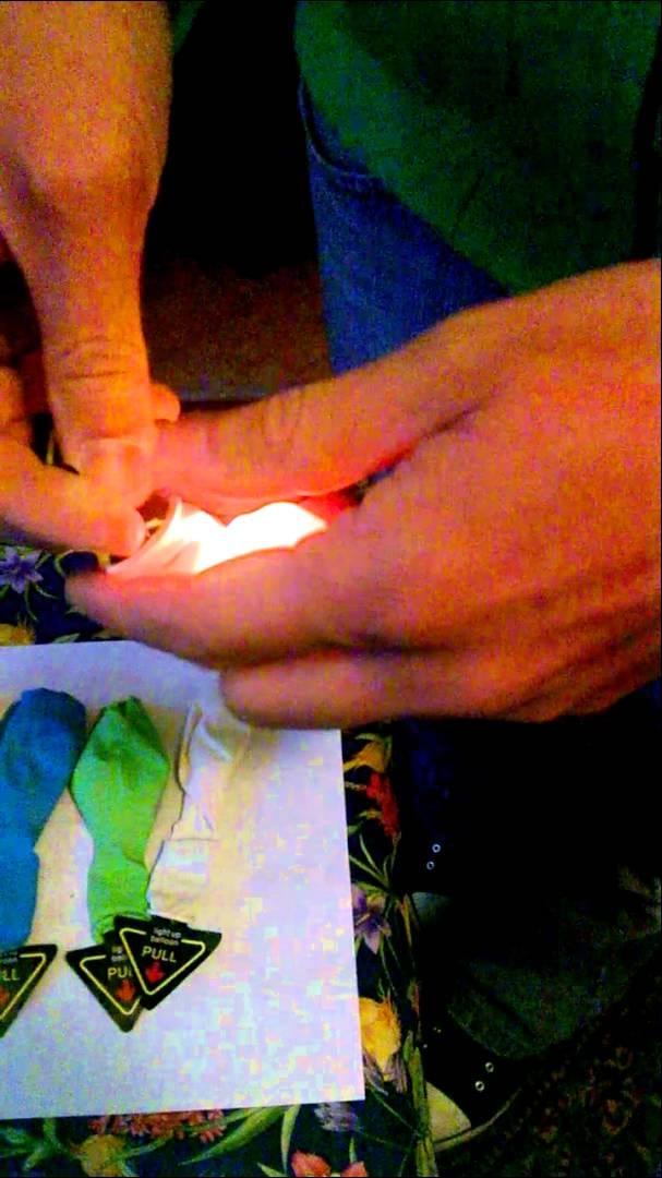 Balony z lampką LED ! Świecące W Ciemności Balony z helem Balomania