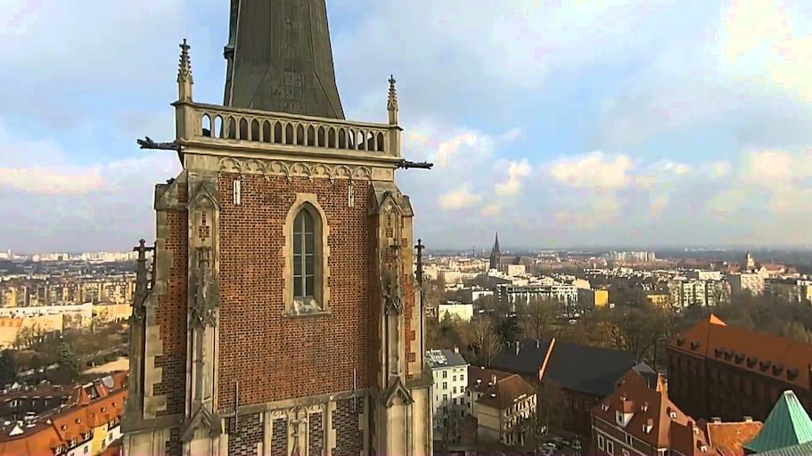 Wypuszczanie 70 Balonów z helem Prawdy Polaków Rodło Ostrów Tumski - Balomania Wrocław
