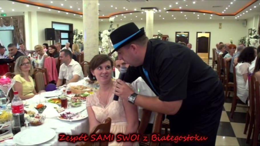 Zespół SAMI SWOI z Białegostoku - Zabawa przy stołach