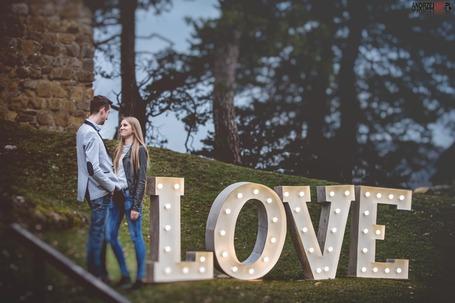 LOVE wypożyczenie wesele ślub event