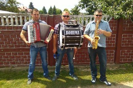 """Firma na wesele: Zespół  """"BOHEMA"""""""