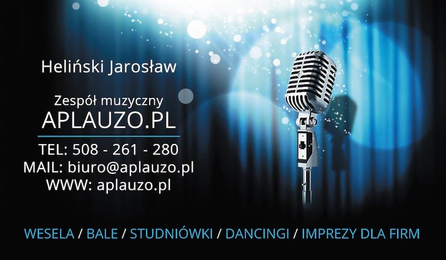 Wizytówka Zespołu Wokalno-Instrumentalnego APLAUZO