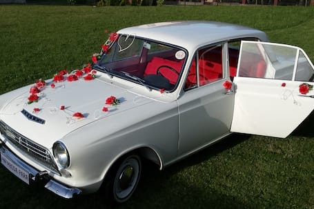 Ford Cortina 1964r do Ślubu