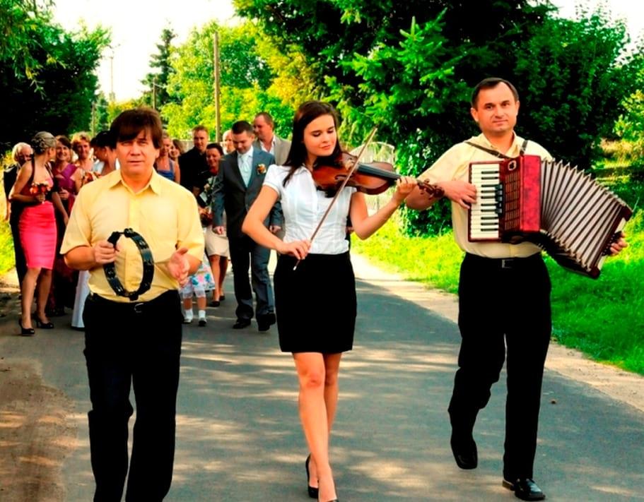 Wyprowadzenie do kościoła  Zespól muzyczny Szczecin