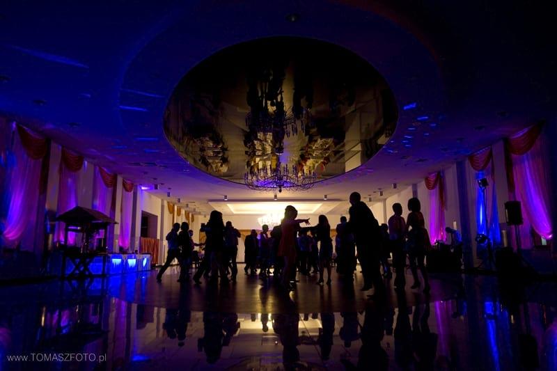 Przykład dekoracji  światłem  - Zajazd Dyminy Kilelce