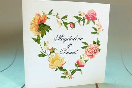 Firma na wesele: Home Cards
