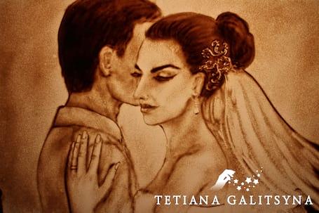 """Firma na wesele: Malowane Piaskiem """"Love Story"""""""