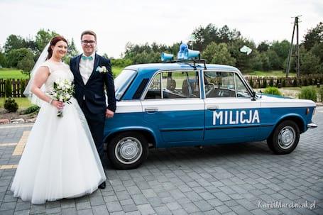 Firma na wesele: Fiat 125p MILICJA