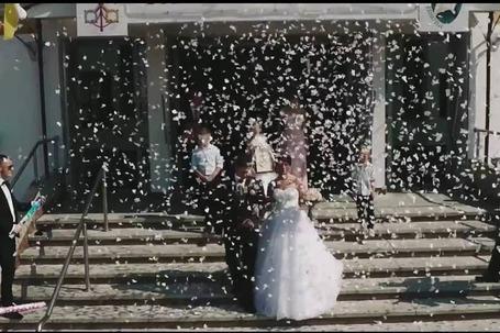 Firma na wesele: Dron filmowanie z powietrza
