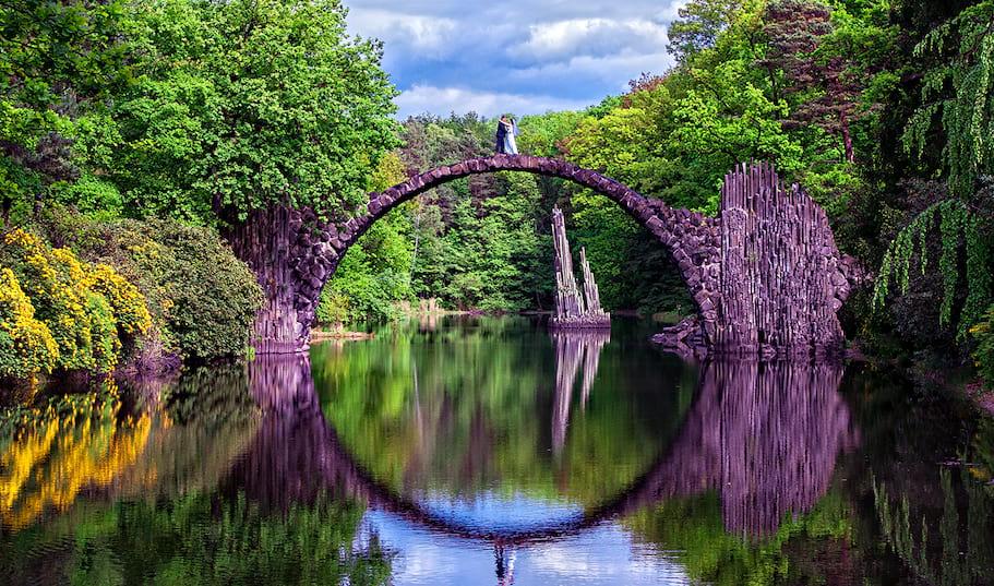 jezioro  Rakotz - Niemcy