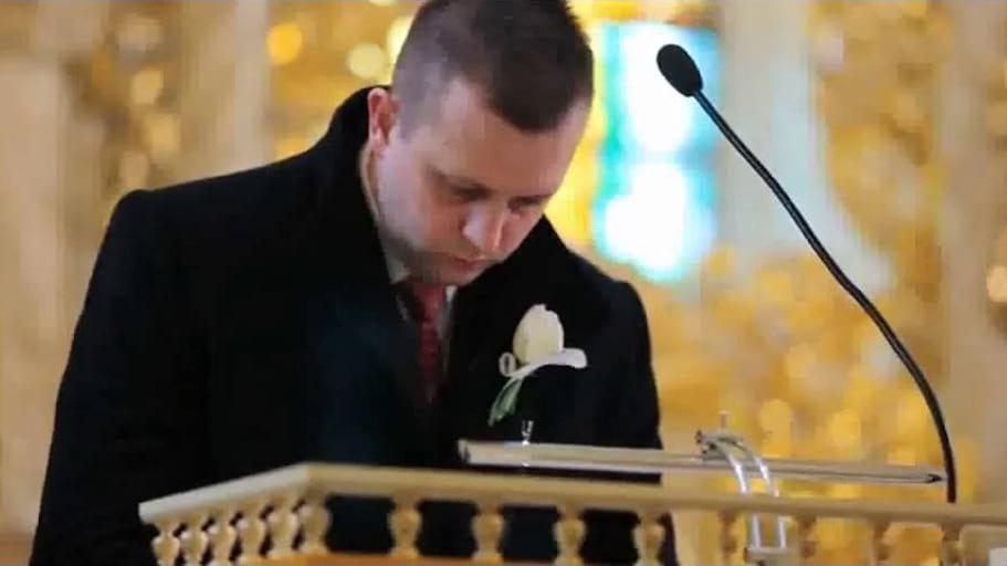 """""""Unoszę wzrok"""" Zespół Pięciolinia oprawa ślubu kościelnego"""