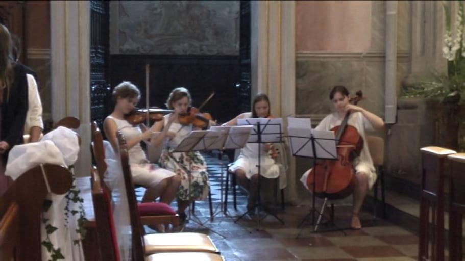 Canon in D major (J.Pachelbel) - Open String Quartet