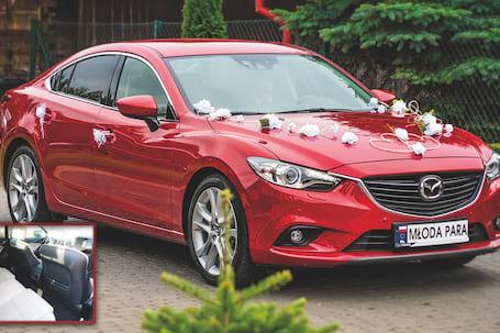 Firma na wesele: Mazda6 GJ Red Soul