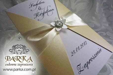 Firma na wesele: Zaproszenia ślubne PARKA