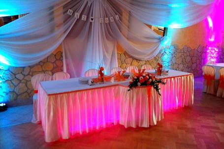 Firma na wesele: Dekoracja światłem Napis LOVE 3d
