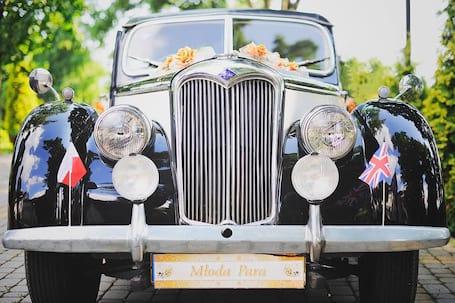 Firma na wesele: Riley 1952r. - auto do ślubu