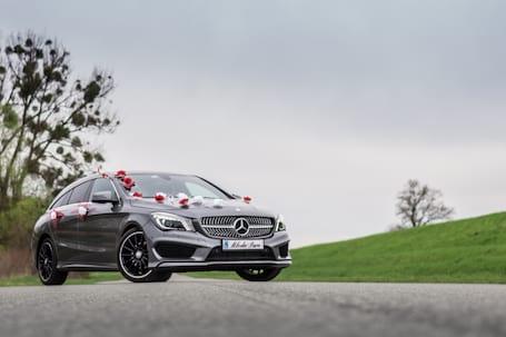 Firma na wesele: Mercedes CLA 2016 AMG