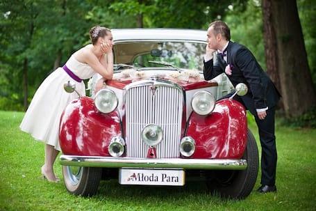 Firma na wesele: Rover 1949r. - auto do ślubu