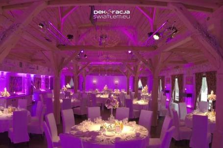 Firma na wesele: DekoracjaŚwiatłem.eu