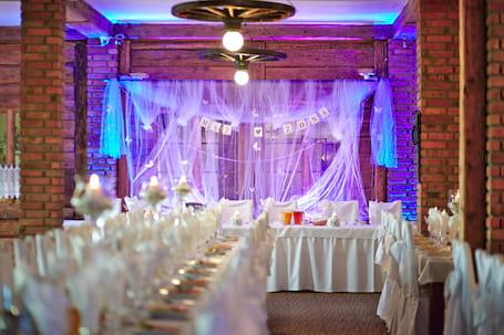 Firma na wesele: Oświetlenie dekoracyjne LED