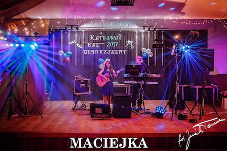 """Firma na wesele: """"Maciejka"""" Zespół muzyczny."""