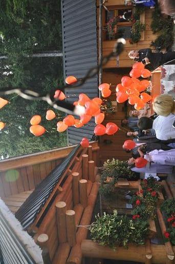 wypuszczanie balonów z helem