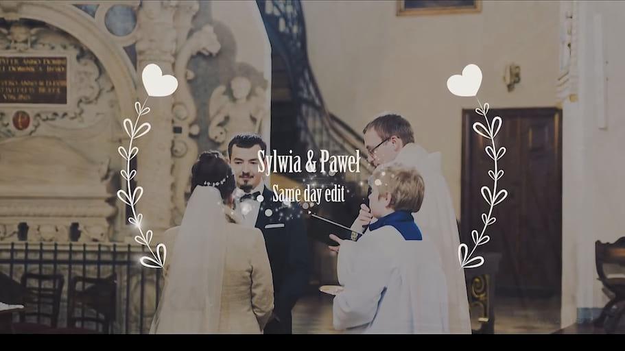 Wesele zimą - Film montowany na weselu 2017