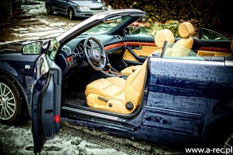 Firma na wesele: Cabriolet Audi A4 b6