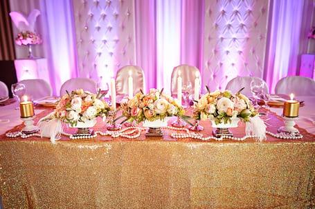 Firma na wesele: Uroczyste Dekoracje