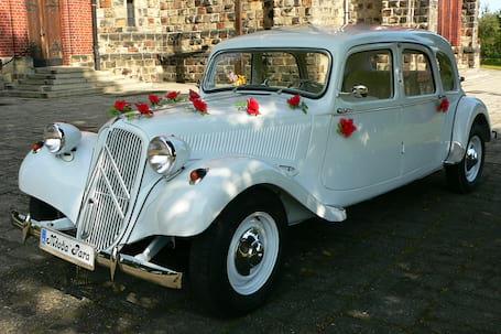 Firma na wesele: Citroen Traction Avant 11B Familiale