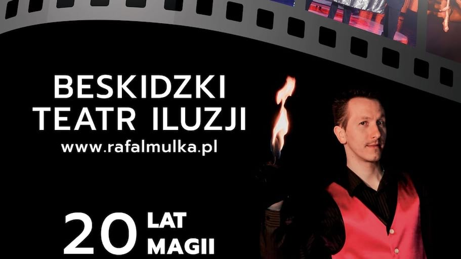 Iluzjonista Rafał Mulka - 20 lat magii