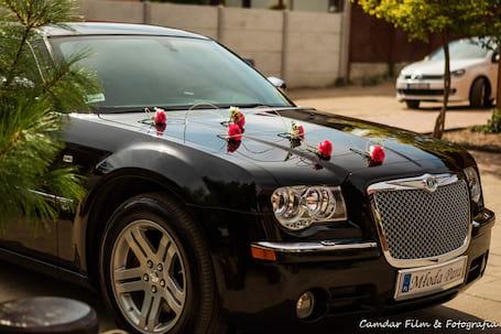 Firma na wesele: Auto do Ślubu Chrysler 300c