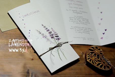 Firma na wesele: ZAPROSZENIA - 3xd