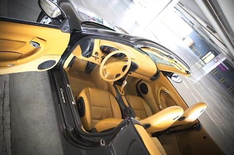 Firma na wesele: Porsche 911 cabrio na ślub