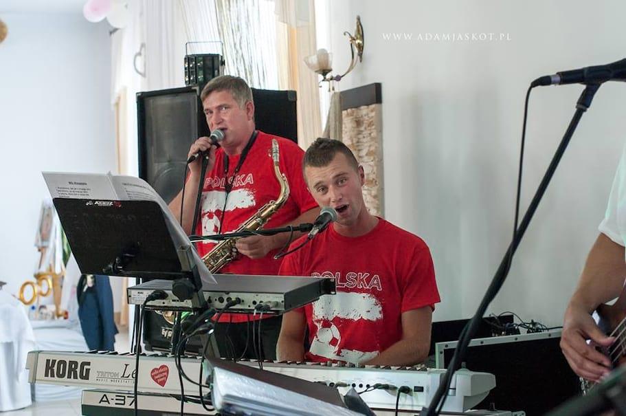 Józek i Dawid (wesele w trakcie Euro  2016, kibicujemy Polakom)