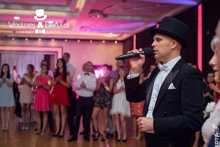 Firma na wesele: Wodzirej Hubert Bartnik DJ AXEL