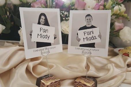 Firma na wesele: Foto winietki