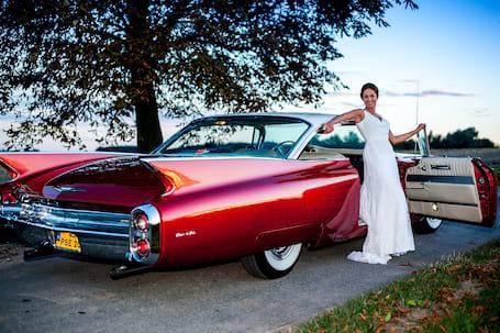Firma na wesele: CADILLAC - zabytkowe do ślubu