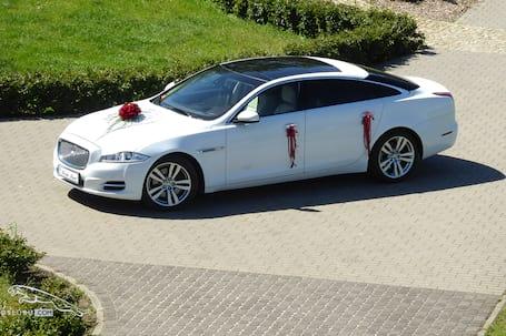 Firma na wesele: Jaguar do ślubu Limuzyna XJ L