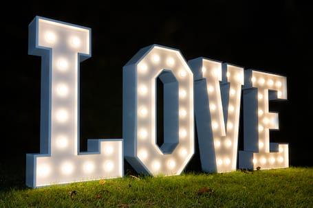 Firma na wesele: LOVE na twoje wesele + GRATIS