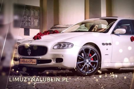 Firma na wesele: Maserati Quattroporte
