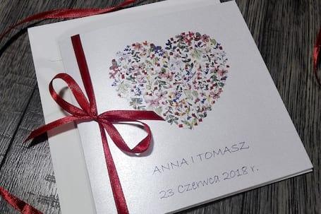 Firma na wesele: Cudeńka z Papieru - Zaproszenia