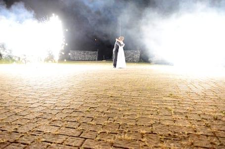 Firma na wesele: Pokaz pirotechniczny