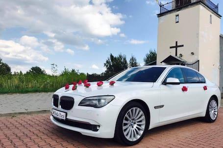 Firma na wesele: Samochód do ślubu, BMW 740