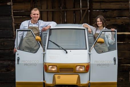 Firma na wesele: Prosecco Van