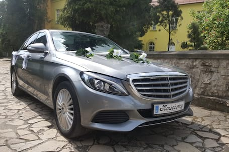 Firma na wesele: Mercedes Benz C klasa