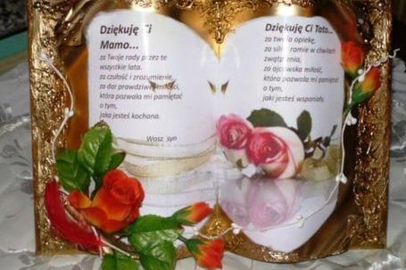Księgi okazjonalne dekoracje weselne