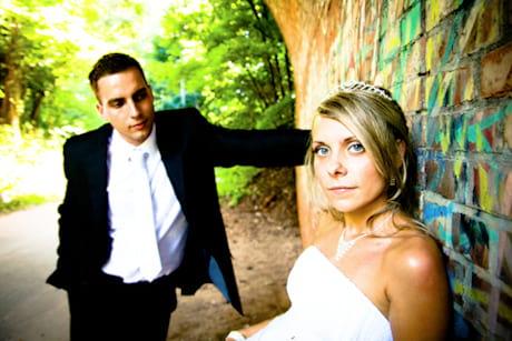 Niezapomniany plener ślubny nowożeńców